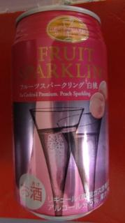 FRUIT SPARKLING [白桃]
