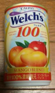 Welch's100[MANGOBLEND](CALPIS)