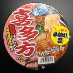 喜多方醤油ラーメン(サッポロ一番)