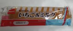 サンドロール[いちご&ミルク](Pasco)