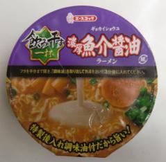 濃厚魚介醤油ラーメン(エースコック)