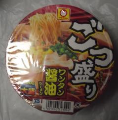 ごつ盛りワンタン[醤油]ラーメン(マルちゃん)