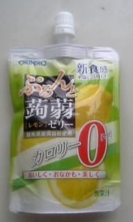 ぷるんと蒟蒻ゼリー[レモン]