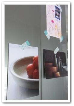 マスキングテープ セリア 冷蔵庫 うつわ屋 ダイレクトメール
