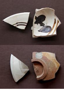 磁州窯陶片