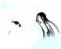 メガネと銃と娘 (詳細不明)