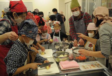 2009収穫祭_調理2