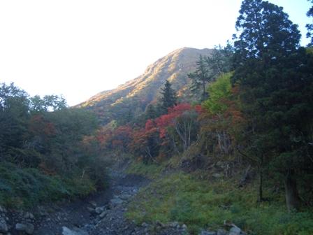三俣山麓の紅葉CIMG0308