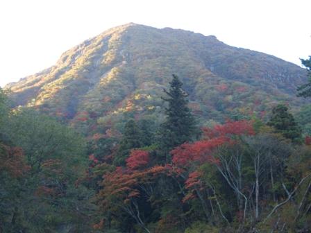 三俣山の紅葉CIMG0311