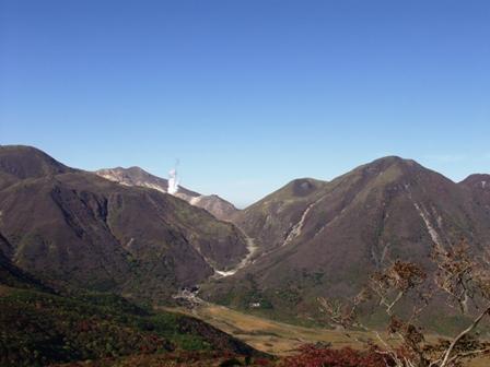 登山途中からの九重連山P1011008