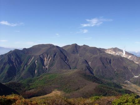 段原からの九重連山P1011030