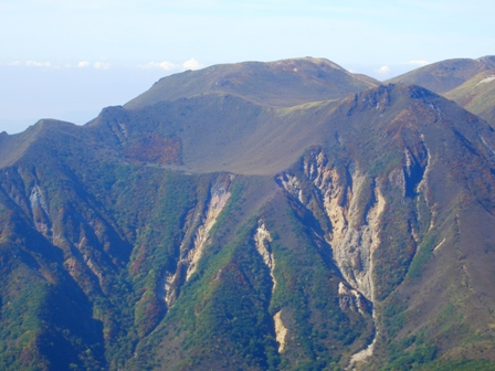 大船山山頂から稲星山CIMG0411