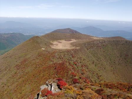 大船山山頂から段原その2P1011047