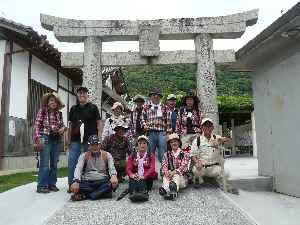 2011.06.22宝当神社にて