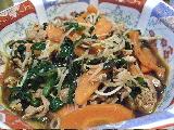 5:31野菜炒め