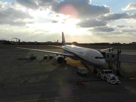 松山空港にて 3