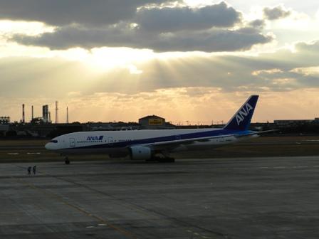 松山空港にて 4