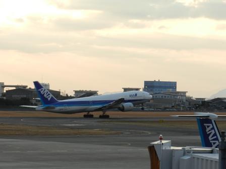 松山空港にて 5