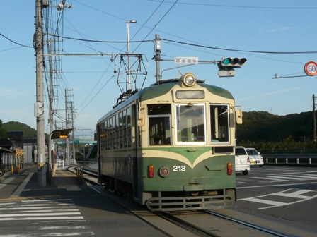 土佐電気鉄道の路面電車 5