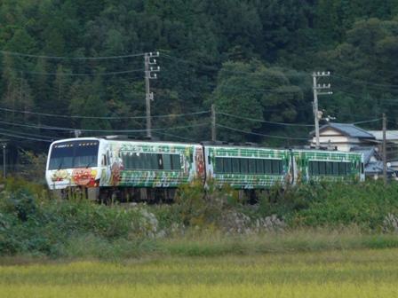 日下駅-岡花駅間 アンパンマン列車 3