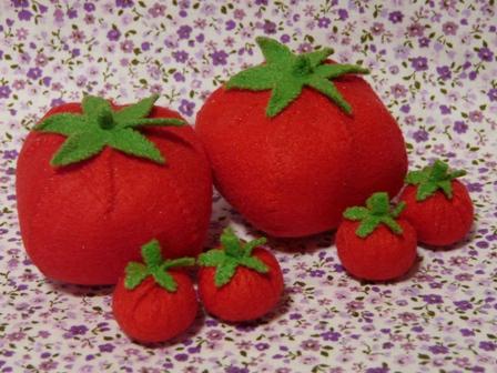 フェルト手芸 トマト