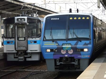 アンパンマン列車 2  7000系電車と