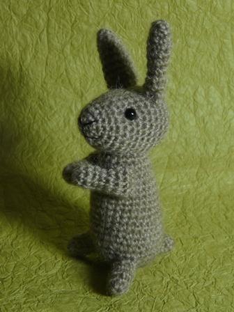 あみぐるみ 野ウサギ