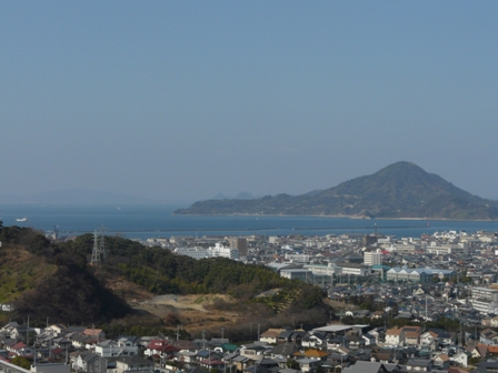 松山総合公園からの眺め