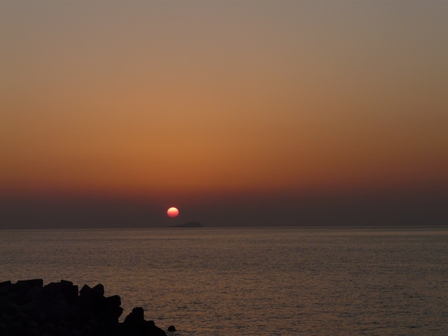 塩屋海岸 夕景 3