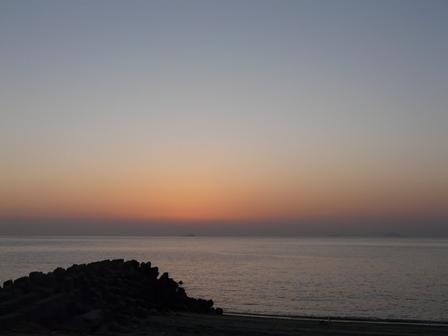 塩屋海岸 夕景 6