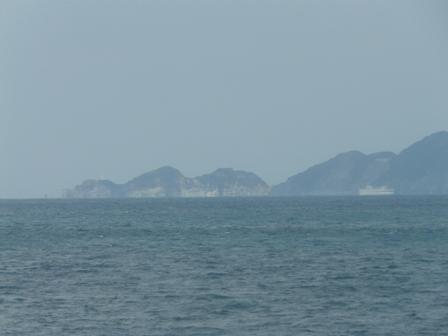 八幡浜-臼杵フェリーから 5