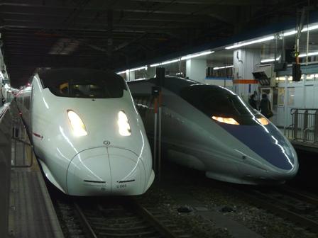 新幹線800系 「つばめ」 & 新幹線500系 1