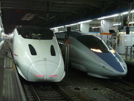 新幹線800系 「つばめ」 & 新幹線500系 2