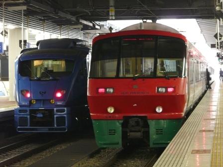 883系特急形電車 「ソニック」 & 783系特急形電車 「ハウステンボス」