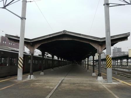 門司港駅・ホーム 1