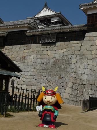松山城 3  よしあきくん