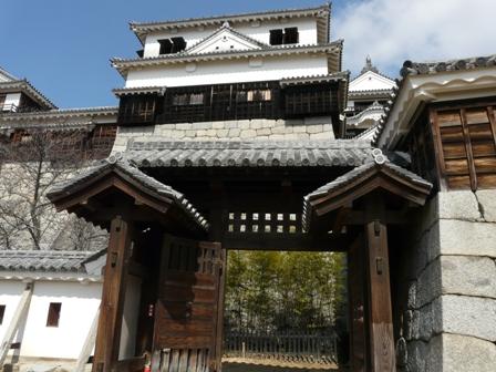 松山城 1  紫竹門