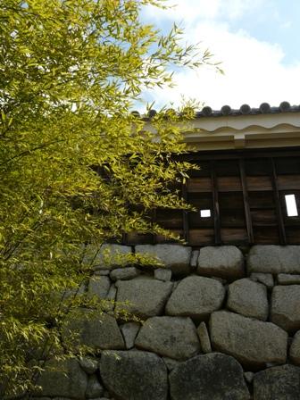 松山城 2  紫竹門東塀