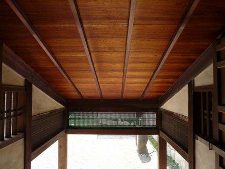 松山城 7  玄関多聞の内側