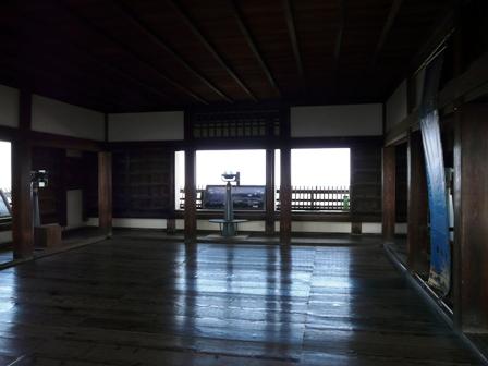 松山城 10 天守閣 最上階