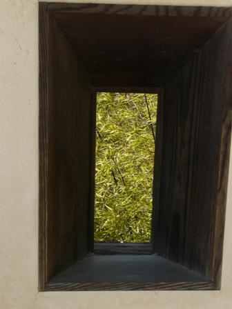松山城 14  紫竹門東塀の狭間