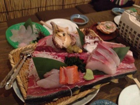 津田鮮魚店の3種盛り