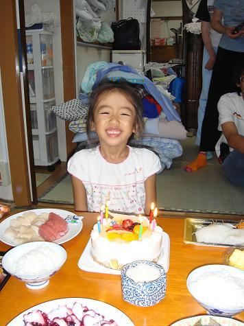 長女誕生日