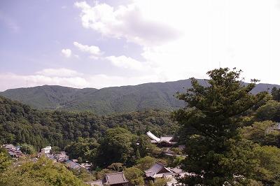 長谷寺からの一望