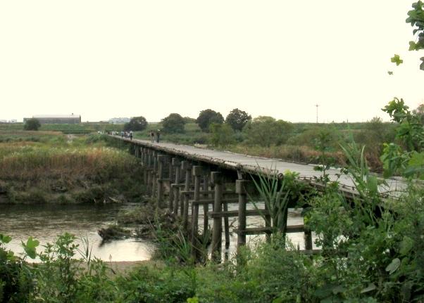 流れ橋 043