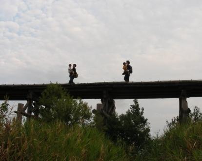 流れ橋 069