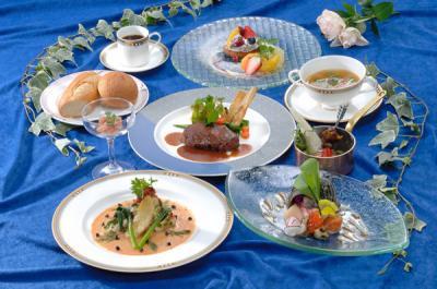世界三大珍味を使ったお料理のイメージ写真です。