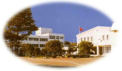 秋田商業高等学校 校舎