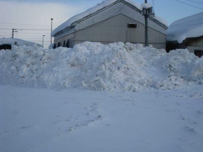 雪景色 雪山