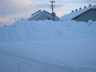 雪の山02